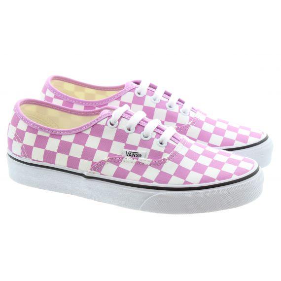 VANS Ladies Authentic Checkerboard Trainers