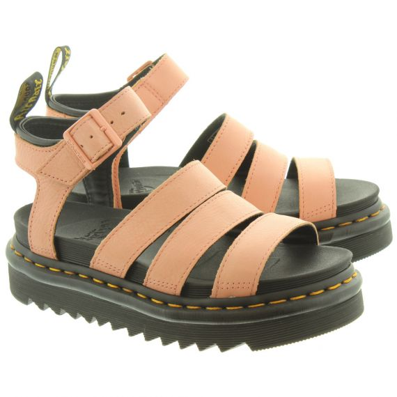 DR MARTENS Ladies Blaire Sandals In Pink