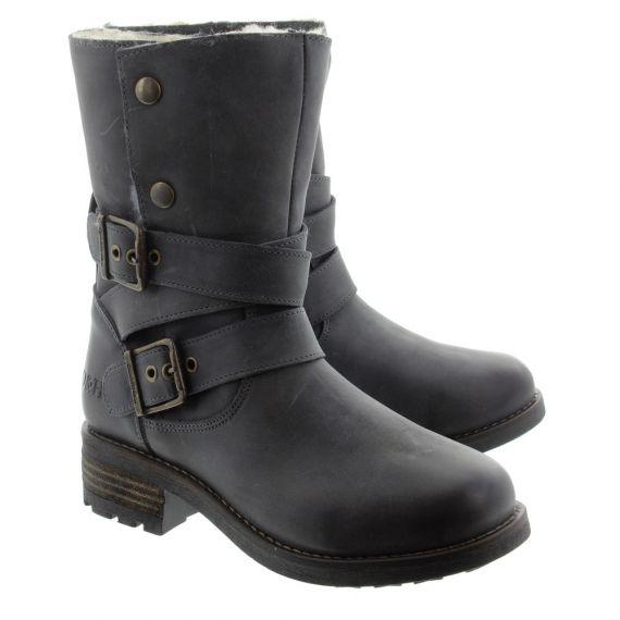 OAK AND HYDE Ladies Bridge Demi Boots In Black