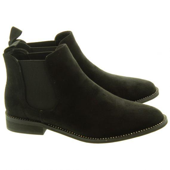 LUNAR Ladies Carrera Chelsea Boots In Black