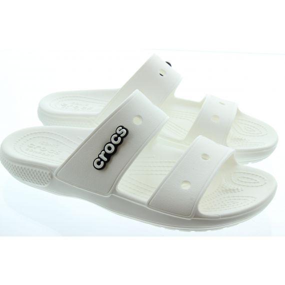 CROCS Ladies Classic Sandal in White