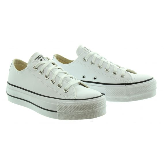CONVERSE Ladies CTAS Lift Clean Ox in White