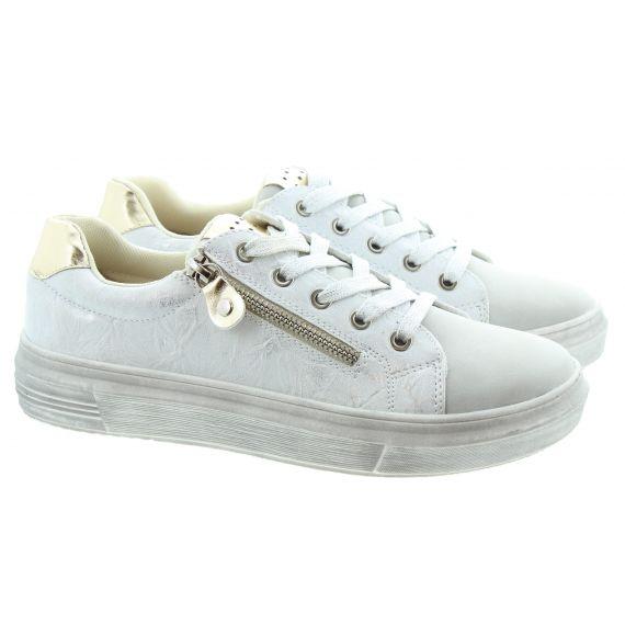 LUNAR Ladies Dahl Lace Shoes In Grey