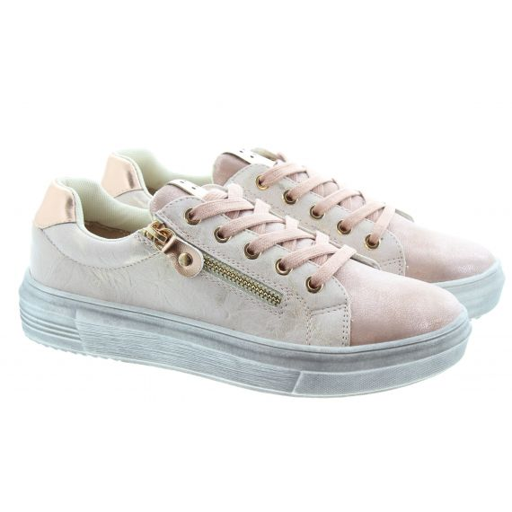 LUNAR Ladies Dahl Lace Shoes in Pink