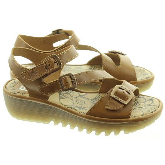 FLY Ladies Elit Sandals In Camel