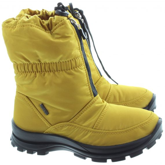 WESTLAND Ladies Grenoble 118 Waterproof Boots In Yellow
