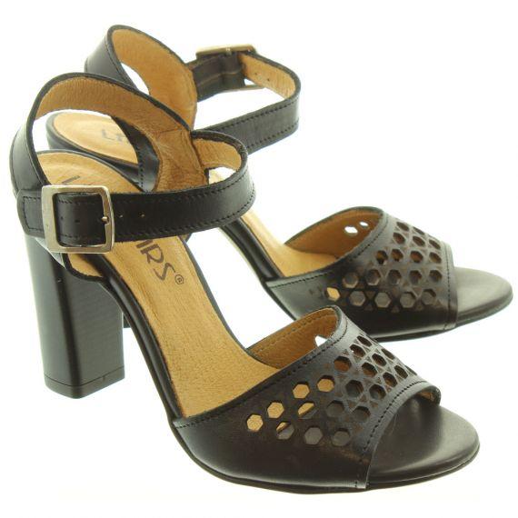 LAN_KARS Ladies H44 Heel Sandals In Black
