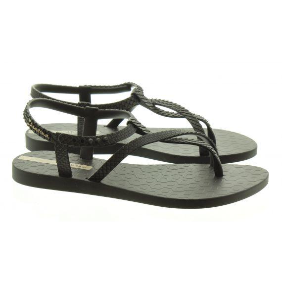 IPANEMA Ladies Ipanema Wish Snake Sandals in Black