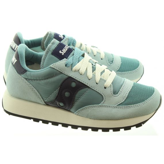 SAUCONY Ladies Jazz Original Trainers In Blue