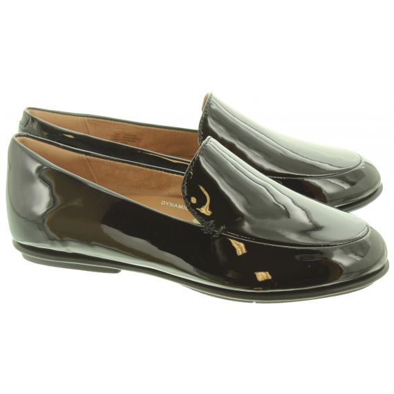 FITFLOP Ladies Lena Loafers In Black Patent