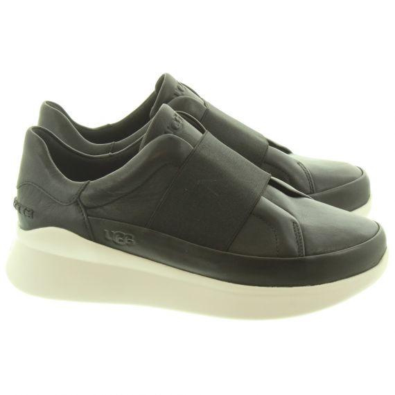 UGG Ladies Libu Slip On Shoes In Black