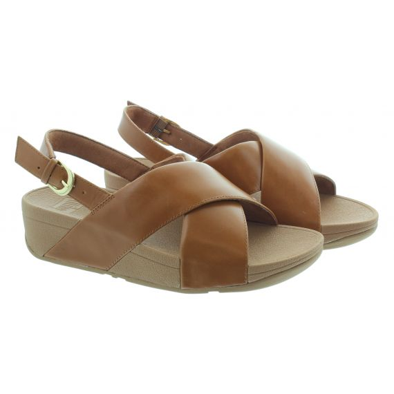 FITFLOP Ladies Lulu Back Strap Sandals In Tan