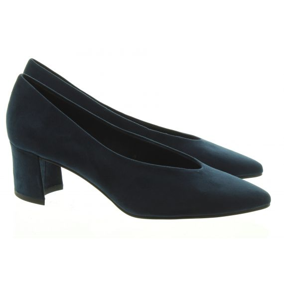 MARCO_TOZZI Ladies Marco Tozzi 22416 Court Shoes in Navy