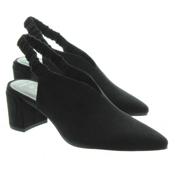 MARCO TOZZI Ladies Marco Tozzi 29617 Full Toe Sandal in Black