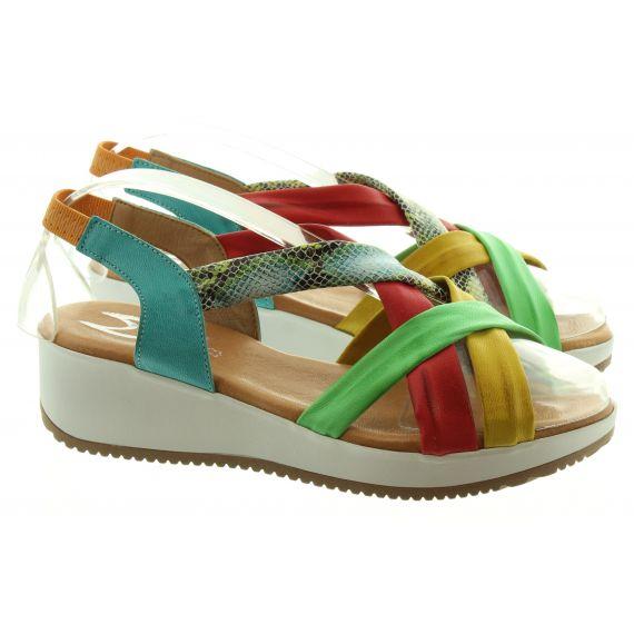 MARILA Ladies Marila 1302 Wedge Sandal in Multi