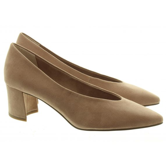MARCO TOZZI Ladies Maro Tozzi 22416 Court Shoes in Nude