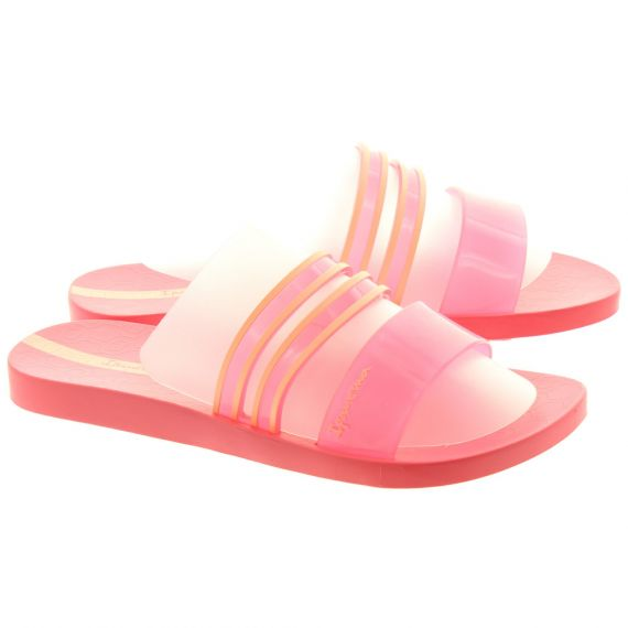 IPANEMA Ladies New Clear Slide Sandals In Pink