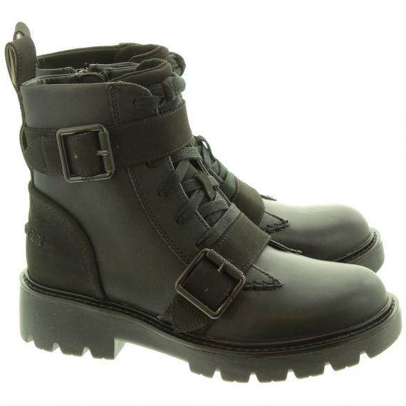 UGG Ladies Noe Beachpunk Boots In Black