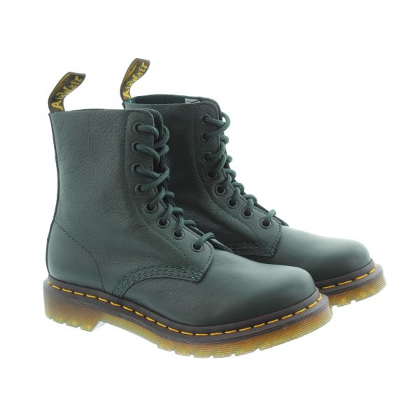 DR MARTENS Ladies Pascal Virginia Boots In Green