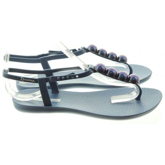 IPANEMA Ladies Pebble Charm Sandals In Navy