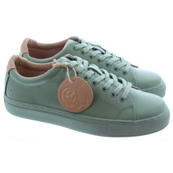 RATION.L Unisex R Kind Lace Shoe in Khaki