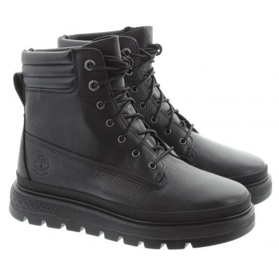 TIMBERLAND Ladies Ray City 6 Inch Waterproof Boots in Black