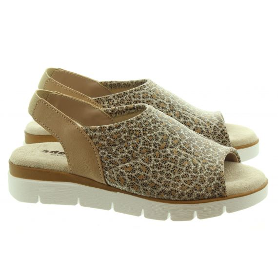 ADESSO Ladies Sheeba Sandals In Natural