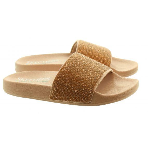 SKECHERS Ladies Skechers 32369 Slide in Rose Gold