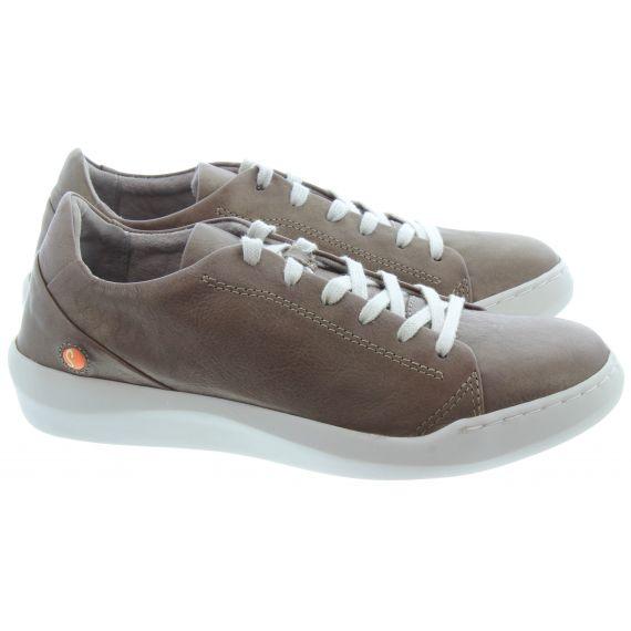 SOFTINOS Ladies Softinos Bauk Lace Shoe in Grey