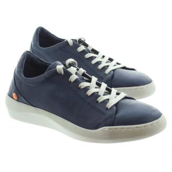 SOFTINOS Ladies Softinos Bauk Lace Shoe in Navy