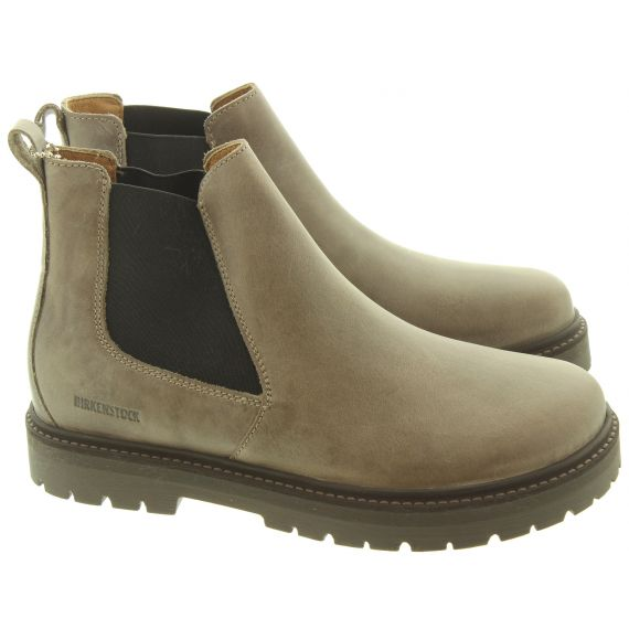 BIRKENSTOCK Ladies Stalon Chelsea Boots In Taupe