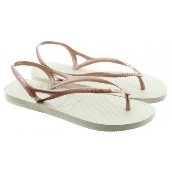 HAVAIANAS Ladies Sunny 2 Sandals In Gold
