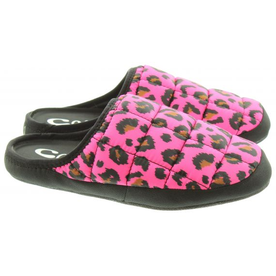 COMA_TOES Ladies Tokyoes Coma Toes Slippers In Pink Multi