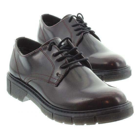 MARCO_TOZZI Ladies Tozzi 23741 Lace Shoe in Bord