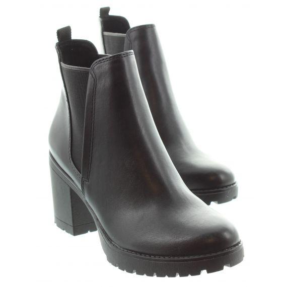 MARCO_TOZZI Ladies Tozzi 25414 Heel Ankle Boot in Black