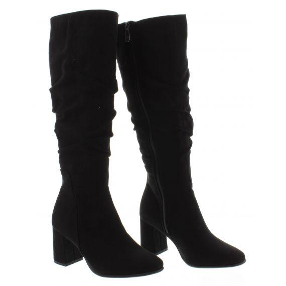 MARCO_TOZZI Ladies Tozzi 2551125 Knee Boot in Black
