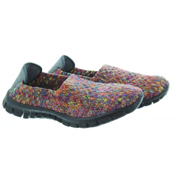 ADESSO Ladies Verity Flat Shoe in Multi