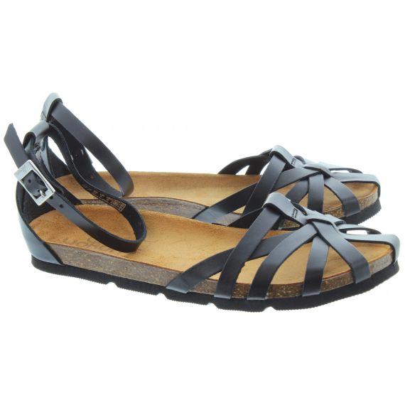 YOKONO Ladies Villa 001 Sandals In Black