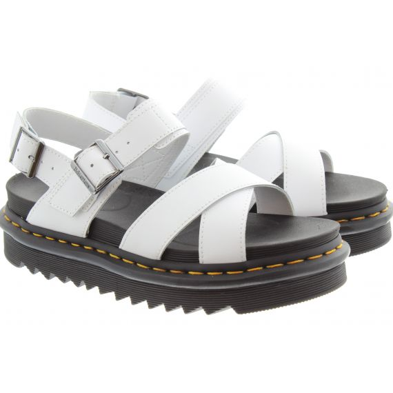 DR MARTENS Ladies Voss II Sandals In White