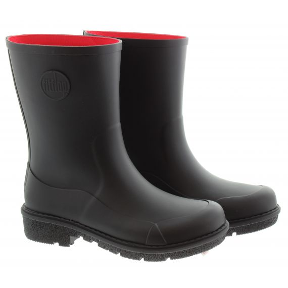 FITFLOP Ladies Wonderwelly™ Short Boots In Black