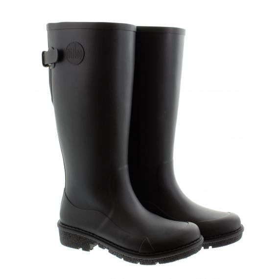FITFLOP Ladies Wonderwelly™ Tall Boots In Black