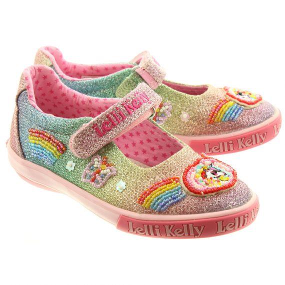 LELLI KELLY Kids LK9070 Unicorn Bar Shoes In Multi