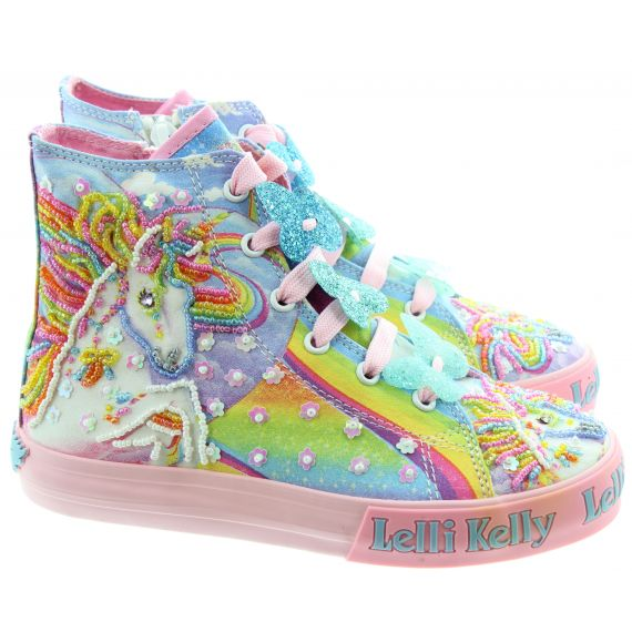 LELLI KELLY Kids LK9090 Unicorn Boots In Multicoloured