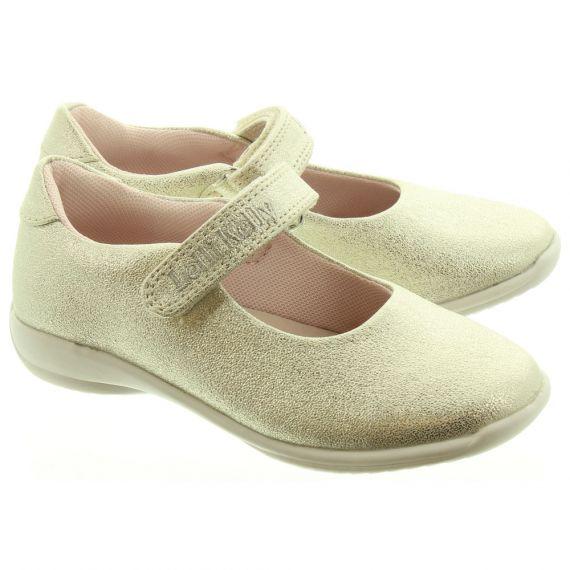 LELLI KELLY Kids LK9750 Princess Bar Shoes In Gold
