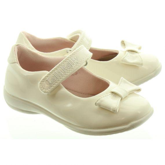 LELLI KELLY Kids LK9764 Princess Bow Bar Shoes In White