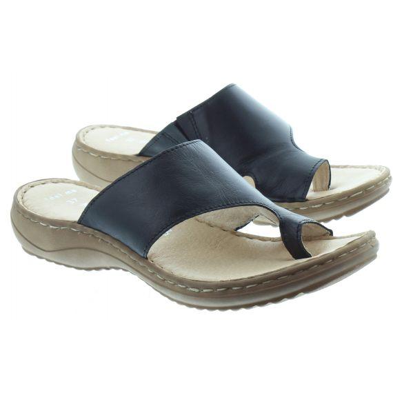 MARCO_TOZZI Marco Tozzi 27900 Toe Loop Sandal in Black