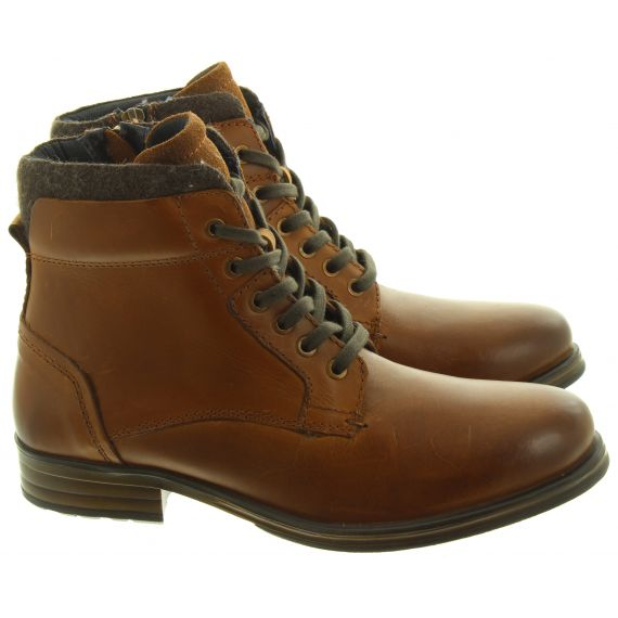 ADESSO Mens Mark Lace Boots In Tan