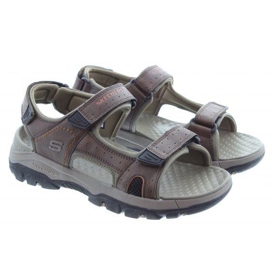 SKECHERS Mens 204106 Sandals In Brown