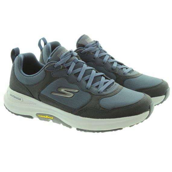 SKECHERS Mens 216107 Water Repellant Shoes In Navy