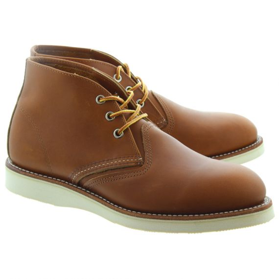 RED WING Mens 3140 Chukka Boots In Tan